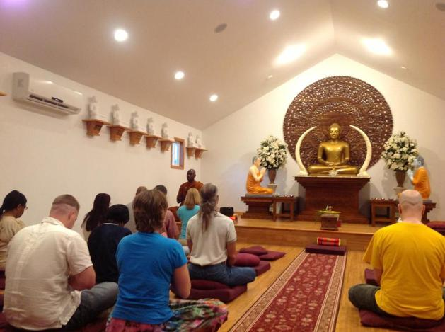 BhanteWgroupmeditiation